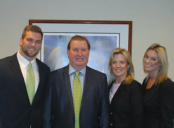 Left to right: Jameson McShea, Kevin McShea, Michele McShea, Megan McShea